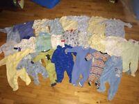6 months boy clothes (80 pieces)