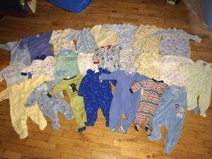 6 months boy clothes (78 pieces)