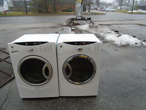 ge front load washer dryer can delivery