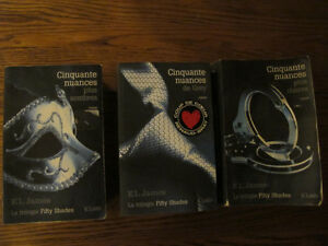 TRILOGIE FIFTY SHADES OF GREY EN FRANCAIS