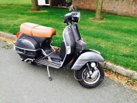 2011 lml 125 vespa badged