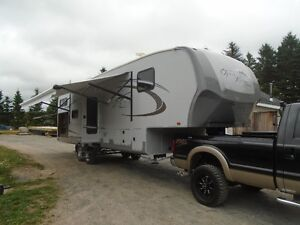 34' OPEN RANGE, FIFTH WHEEL, TRAVEL TRAILER 329BHS