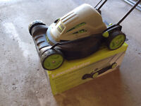 """LawnMaster 18"""" 2 in-1 10A Electric Mower"""