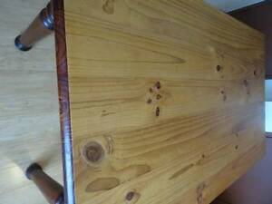 ANTIQUE MACROCARPA TIMBER DINING TABLE SOLID WOOD