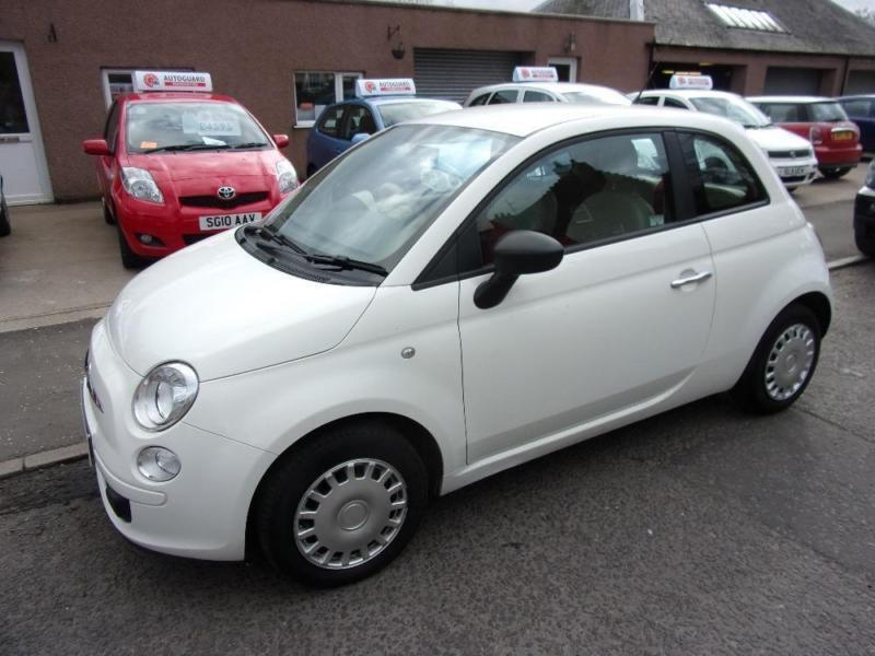 fiat 500 1 2 pop 2008 petrol manual in white in brechin angus gumtree. Black Bedroom Furniture Sets. Home Design Ideas