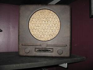 ww2 german military  1938  RADIO RECEIVER CIVIL POPULAR.   RADIO