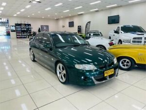 2001 Holden Special Vehicles GTS VX Green 6 Speed Manual Sedan Carss Park Kogarah Area Preview