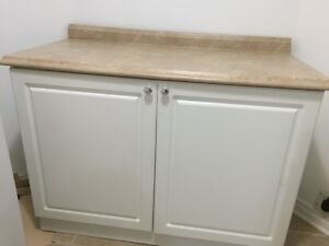 Kitchen cabinets,countertops & sink with faucet, like new Peterborough Peterborough Area image 2