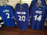 Price, Donaldson, Tulowitzki, Bautista New Blue Jays Jerseys