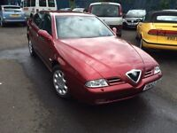 Alfa Romeo 166- Full Alfa Service History, Future Classic, Long MOT, FULL LEATHER