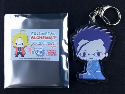 Fullmetal Alchemist Trading Acrylic Key Holder Ring Vol.2 Maes Hughes New