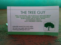 THE TREE GUY. Greater Hamilton