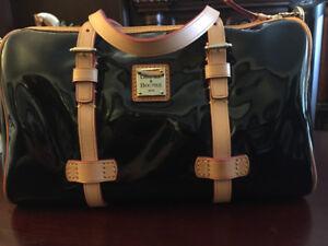 Patent Handbags. Dooney & Burke, Italian made Arcadia