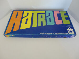 VINTAGE RATRACE BOARD GAME 1967 EDITION