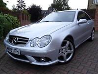 2009 09 Mercedes-Benz CLK320 3.0TD CDI 7G-Tronic Sport..HIGH SPEC..STUNNING !!