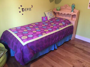 Girls twin bed for sale