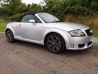 Audi TT convertable 3.2 DSG 2003 76000 miles