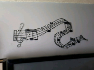 Metal music note from Nashville 40 dollars firm
