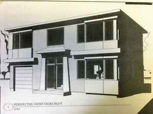 Building Lot. Plans approved for 1500sqft Home with Garage