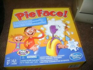 PIE FACE GAME NEW