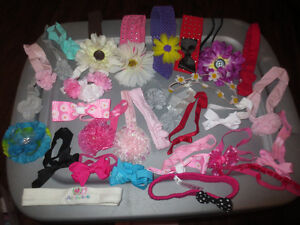 31 Headbands - Most are new and never worn.