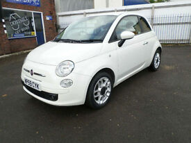 Fiat 500 Diesel 1.3 MultiJet SPORT, Air Conditioning, Alloy Wheels, 52000 Miles,