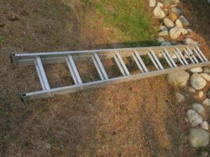 Ladder, extension.