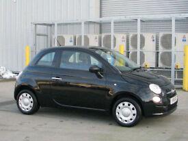Fiat 500 1.2 ( 69bhp ) POP 3 Door Black