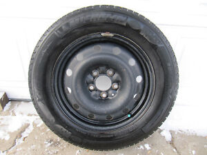 205/65R16 Michelin X-Ice Winter Tires and Rims