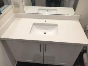 Vanity Top (Granite and Quartz Top only $99)