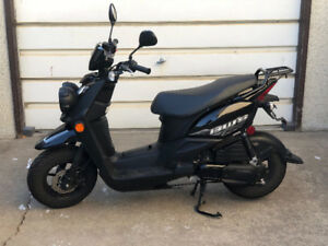 For sale. Mint condition 2016 Yamaha YW50FAG scooter. Low kms.