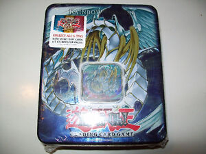 Yu-Gi-Oh! Factory Sealed Rainbow Dragon Collectible Tin 2007