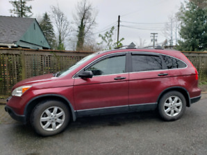 2007 Honda CRV-EX with low kms