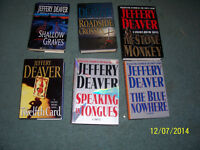 Jeffery Deaver Hardcovers