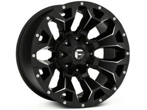 Fuel Wheels Assault Black rims  18x9  07-18 jeep wrangler JK