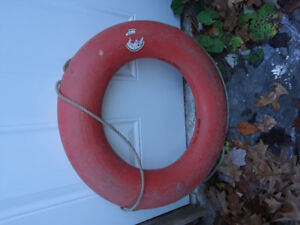 Red Life Preserver ( Ring Buoy)