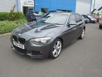BMW 120 2.0TD ( 184bhp ) BluePerformance 2013MY d M Sport Grey