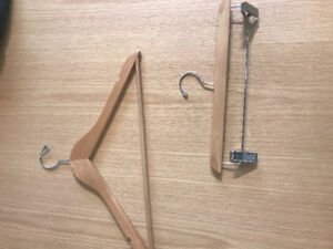 Wooden hangers - as many as you want
