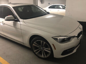 Excellent lease take over on the 2017 BMW 320i xDrive!