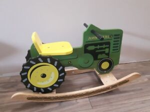 Rocking Toy - John Deere Wooden