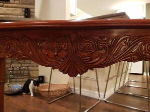Solid Wood Sofa Table London Ontario image 3