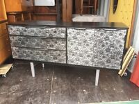 Retro upcycled sideboard 1970's FREE!!
