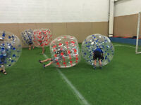 Bubble soccer have fun stay fit! Awesome fat burning exercise!