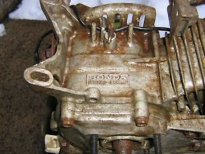 Honda WP20 gas water pump parts.