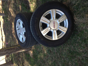 4 GMC Rims and tires 17in. new