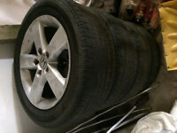 Honda Original 5 spoke alluminum rims
