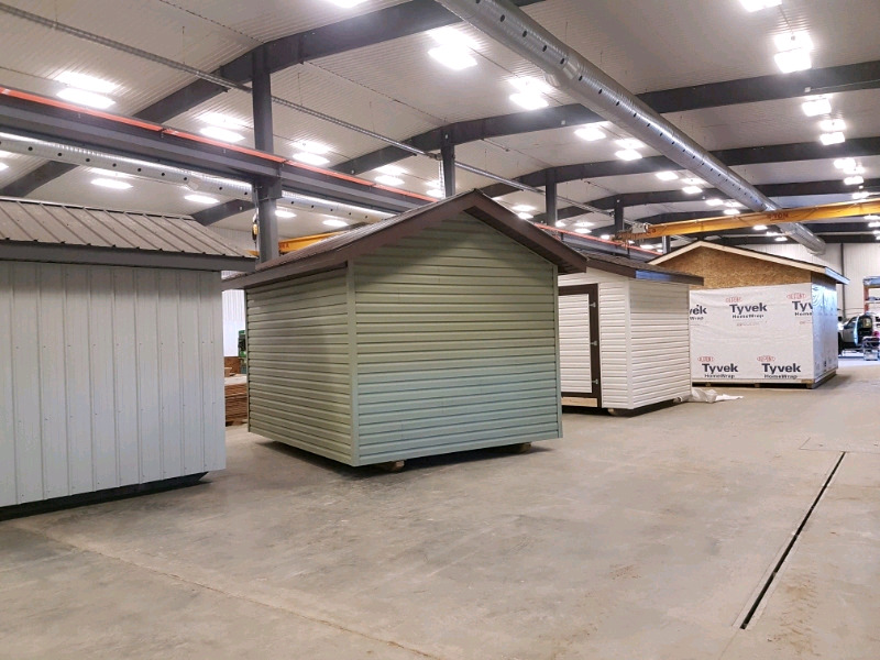 Storage sheds, garages, portable buildings | Outdoor Tools ...
