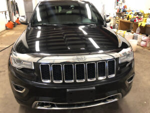 2014 Jeep Grand Cherokee Overland, ONE OWNER, FULLY LOADED