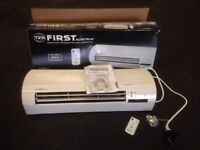 WALL HEATER,REMOTE CONTROL HEATER ,BRAND NEW,WITH BOX,INSTRUCTIONS,(ring me on 07881377250),£45 +pp