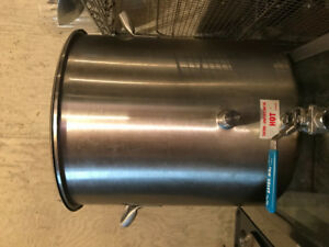 Stainless steel 40qt brew pot or stock pot